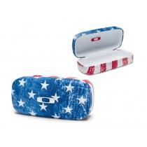 Custodia Rigida Occhiali Oakley Square O Hard Case U.S.A. Flag