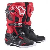 Stivali Alpinestars Tech 10 Red Black