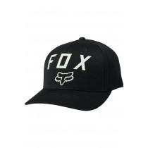 Cappellino Fox Number 2 Flexfit Black