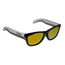 Occhiali Oakley Frogskins Heritage Black / Fire Iridium 24-418 Sunglasses