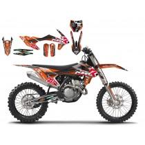 Kit Adesivi Replica MAX BIANCONCINI KTM SX-SXF 16-17
