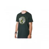 T-shirt Volcom Punk Circle - Verde