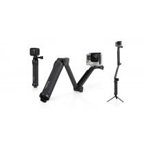 3-Way GoPro Supporto Maniglia Prolunga Treppiede