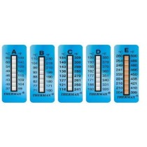 Termometro Adesivo Reversibile Thermax Range 60-90 C°  10pz