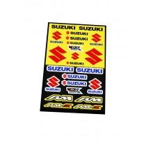 Foglio Adesivi Suzuki