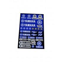 Foglio Adesivi Yamaha