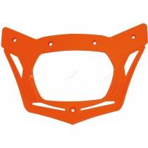 Cornice Portafaro Ricambio Mascherina Rtech V-Face - Arancio KTM