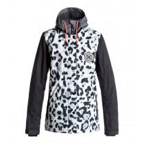 Giacca Donna da Snowboard DC DCLA Jacket Snow Leopard