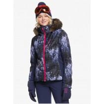 Giacca Donna Neve Roxy Snowstorm Plus Medieval Blue Sparkles