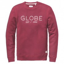 Felpa Globe Mod Crew II Hoodie - Wine