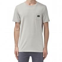 T-shirt con Taschino Globe Goodstock Snow Tee Bone