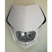 Mascherina Faro Anteriore Rtech V-Face Full White