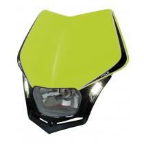 Mascherina Faro Anteriore Rtech V-Face LED Giallo Fluo