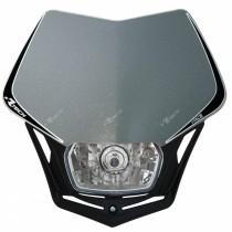 Mascherina Faro Anteriore Rtech V-Face Argento Silver