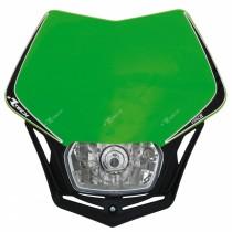 Mascherina Faro Anteriore Rtech V-Face Verde Kawasaki