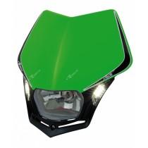 Mascherina Faro Anteriore Rtech V-Face LED Verde Kawasaki