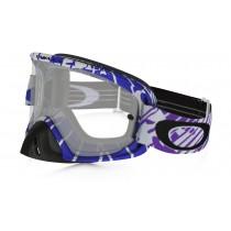 Maschera Oakley O2 Mx - Skull Rushmore Purple/Blue OO7068-10