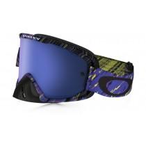 Maschera Oakley O2 Mx - Rain Of Terror Blue/Purple OO7068-14
