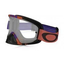 Maschera Oakley O2 Mx - Pinned Race Red Purple OO7068-16