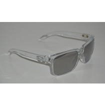 Occhiali Oakley Holbrook Clear / Chrome Iridium oo9102-06 Sunglasses