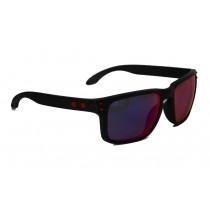 Occhiali Oakley Holbrook Matte Black / +Red Iridium oo9102-36 Sunglasses