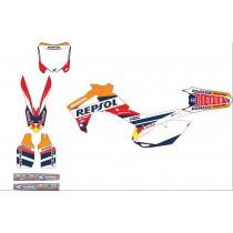 Kit Completo Grafiche REPSOL Honda CR CRF CRFX