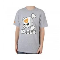 T-shirt DC Ken Block Skull - Grigio
