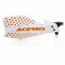 Coppia Paramani Acerbis X-Ultimate Bianco Arancio