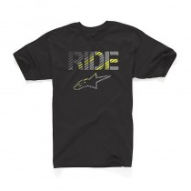 T-shirt Alpinestars Crosshatch Tee - Black