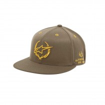 Cappellino Alpinestars Exec Flatbill Military Green Gold