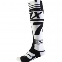 Coppia Calze Fox Fri Union Thick Sock - Bianco / Nero