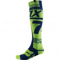Coppia Calze Fox Fri Union Thick Socks - Verde Fluo