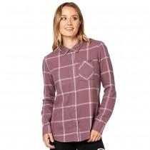 Camicia in flanella Donna Fox Roost Purple