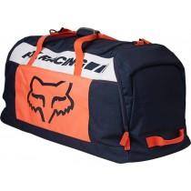 Borsone Fox Podium 180 Duffle Mach One Navy Blue Orange