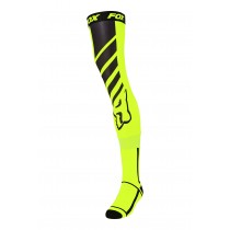 Coppia Calze Lunghe Ginocchiera Fox Mach One Fluo Yellow