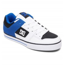 Scarpe DC Shoes Pure White Black Blue 2019