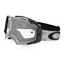 Maschera Oakley Airbrake MX White Speed / Clear 57-980 Goggles Brillen
