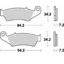 772CM44 Coppia Pastiglie Freno Anteriore Braking - Mescola Standard