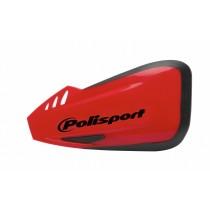Coppia Paramani Polisport Defender - Rosso Honda