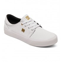 Scarpe Donna DC Shoes Trase LE - White Gold