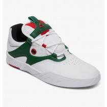 Scarpe DC Shoes Kalis SE White Green