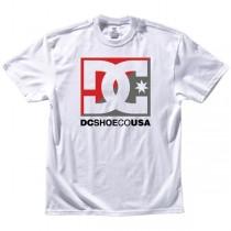 T-shirt DC Cross Star - Bianco