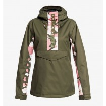 Giacca Donna Neve DC Anorak Envy Olive Night