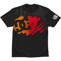 T-shirt DC Stroke Star Ken Block Limited Edition - Nero