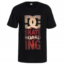 T-shirt DC Shoes Tower - Nero