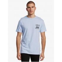 T-shirt Uomo Quiksilver Originals Zen Blue