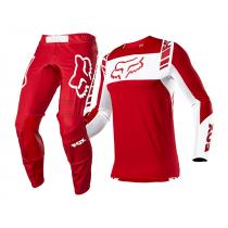Completo Fox Flexair Mach One Flame Red