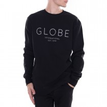 Felpa Globe Mod Crew IV Black