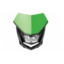 Mascherina Faro Anteriore Polisport Halo Verde Kawasaki