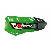 Coppia Paramani Rtech FLX Verde Kawasaki Handguards